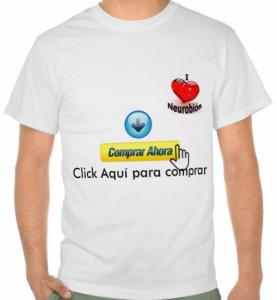 T-shirt I love Neurobion